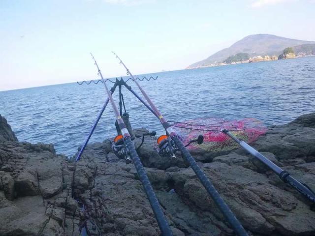 宮崎さん釣り場その1